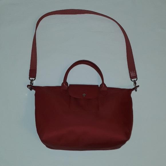 Longchamp Handbags - Longchamp Le Pliage Neo nylon Authentic Tote
